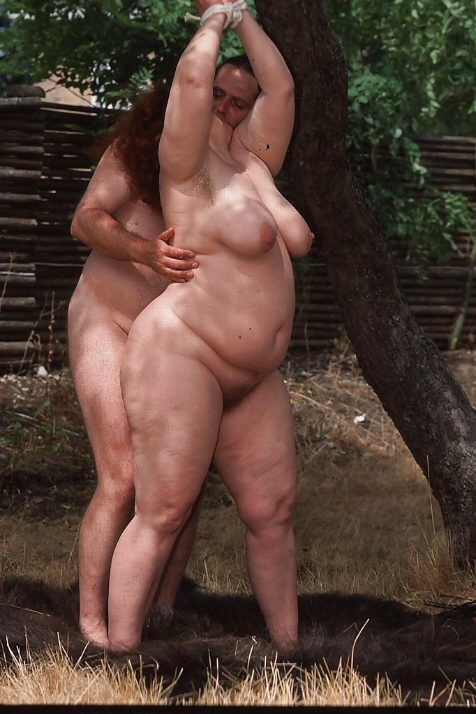 watching bdsm Chubby outdoor