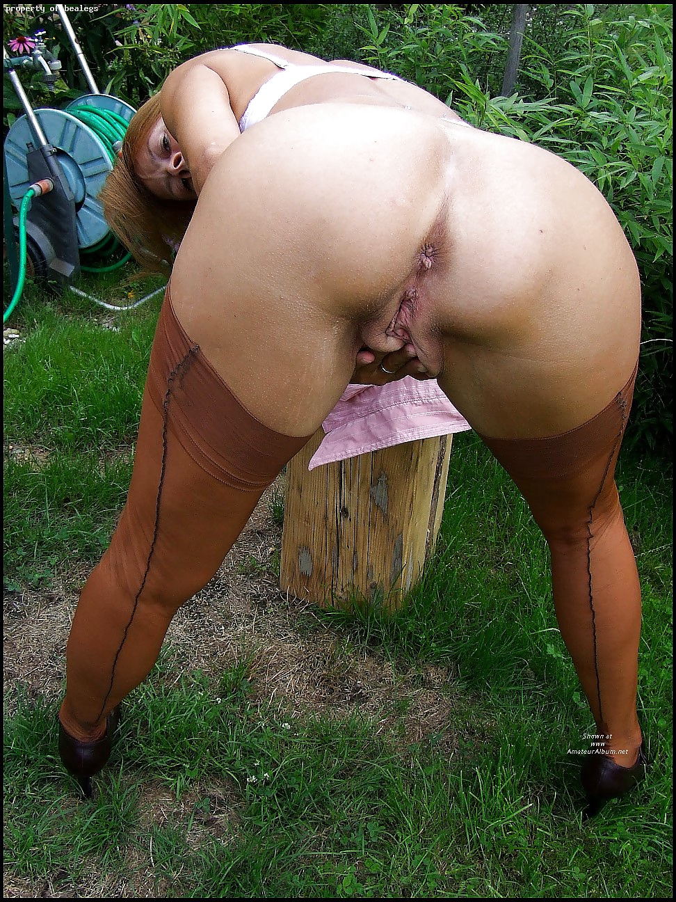 classic Asshole woman outdoor