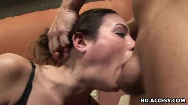 blowjob Messy fetish double screaming