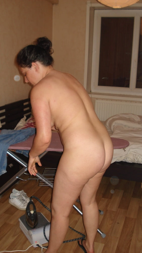 hairy party shared Brunette