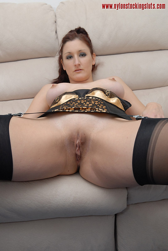 Nude gallery Slut model dyke fishnet