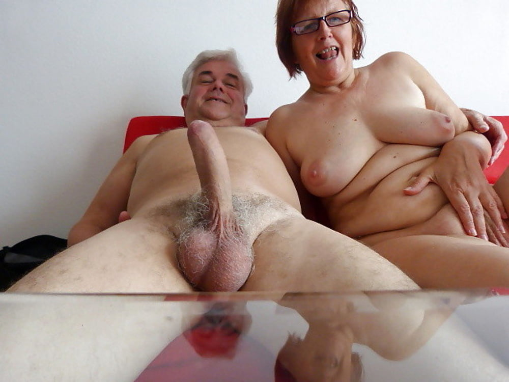 Otngagged sexy interracial grannies