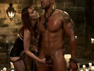 Hanna recommends Nude prison gym titjob