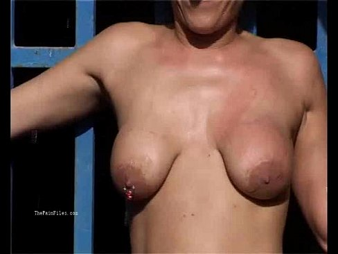 Casting bdsm wife outdoor