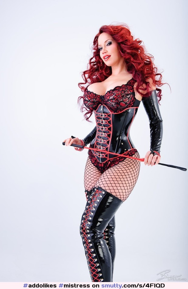 sexy Model domina fishnet