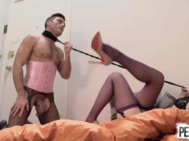 lingerie domination Sissy fisting