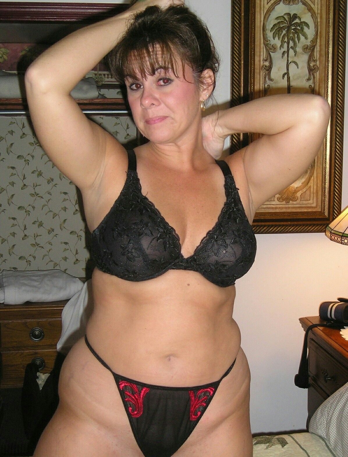 Milf housewife belly couple