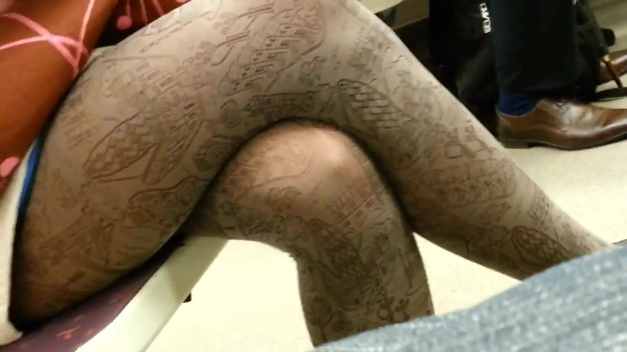 gay amateur subway Nylon