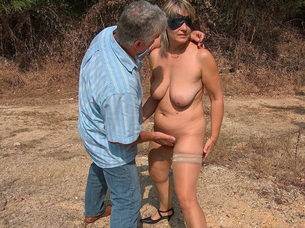 chubby outdoor Wife beauty