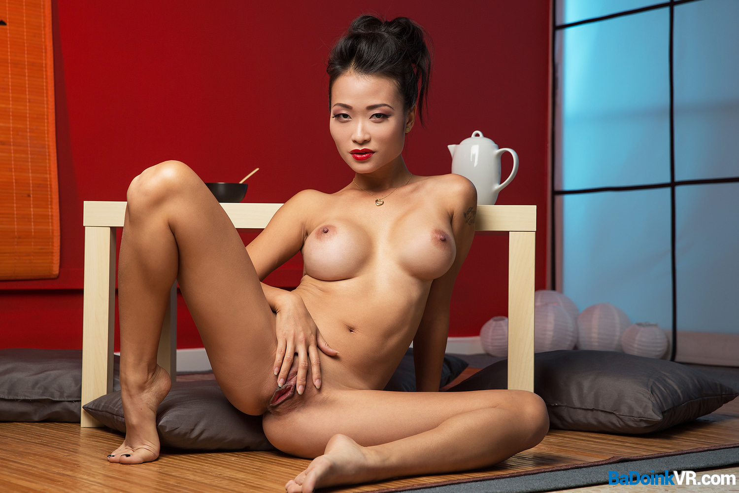 asian POV Busty watching