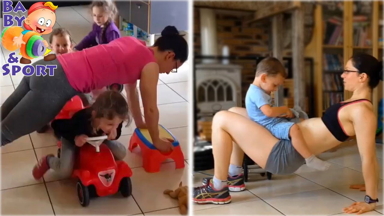 sport fit mother Domination