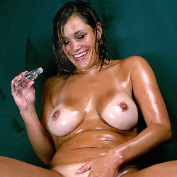 Girlfriend oiled subway amateur