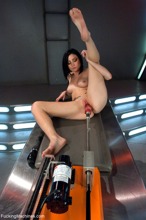 solo drilled miniskirt Fucking machines