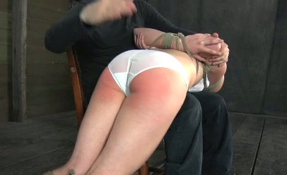 spank drilled gagging Model
