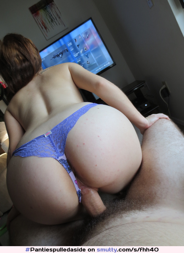 muscle fisting POV thong
